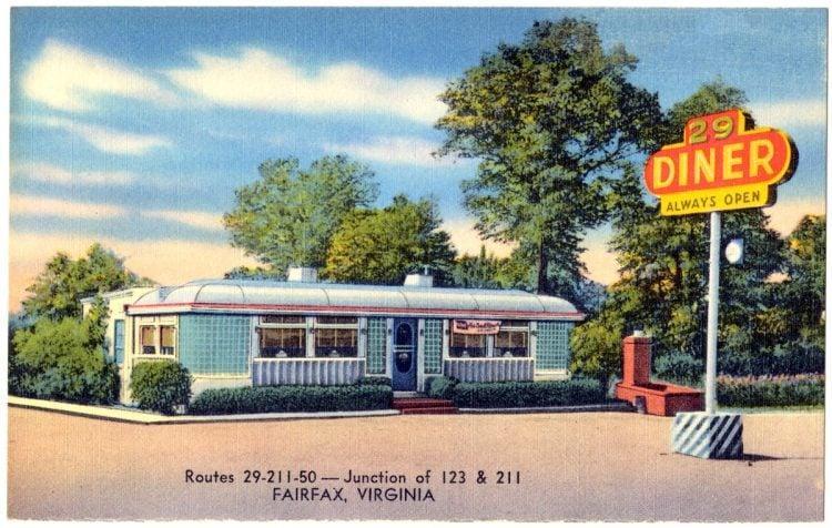 29 Diner, routes 29 - 211 - 50 -- Junction of 123 & 211, Fairfax, Virginia