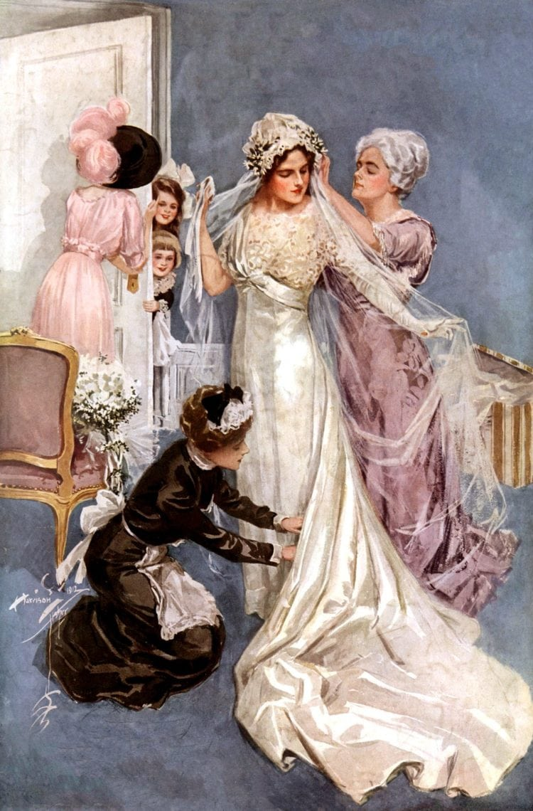 Old traditions and wedding superstitions