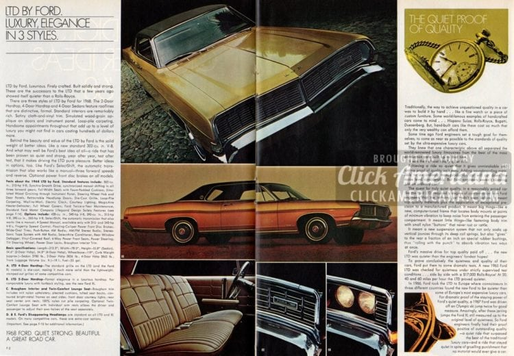 Car buyer's guide: Better ideas for '68 Fords