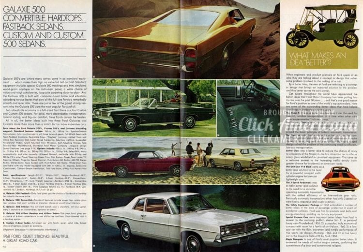 Vintage Ford car buyer's guide: Better ideas for '68