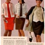 3-piece dress suits for women from Wards 1968