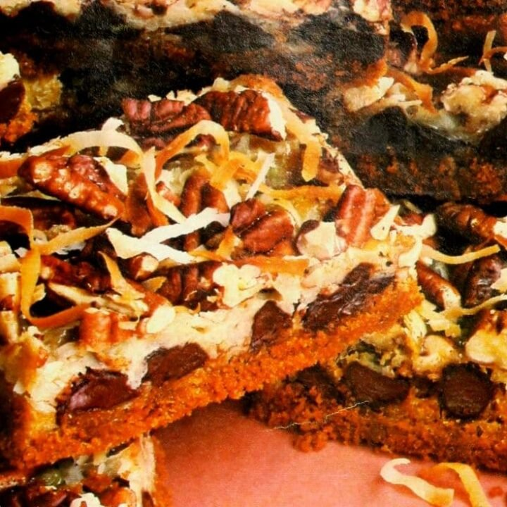 Magic Cookie Bars recipe (1988)