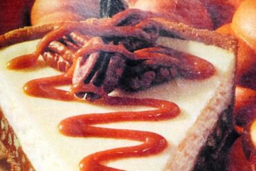 3 step caramel-pecan cheesecake vintage recipe