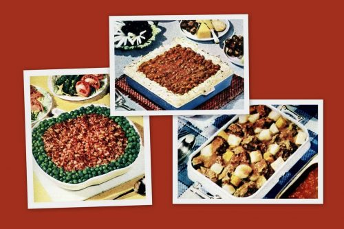 3 swell one-dish dinners from 1950