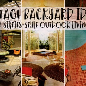 40 vintage backyard ideas so fab, you'll want to recreate relaxing sixties-style outdoor living vibe
