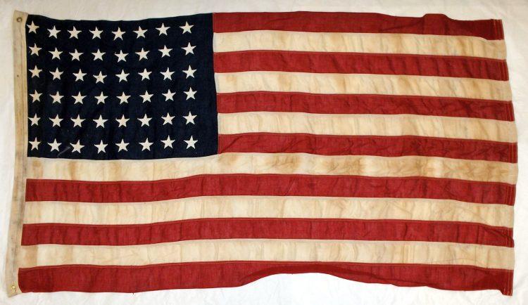 48-star United States flag - Virginia Historical Society