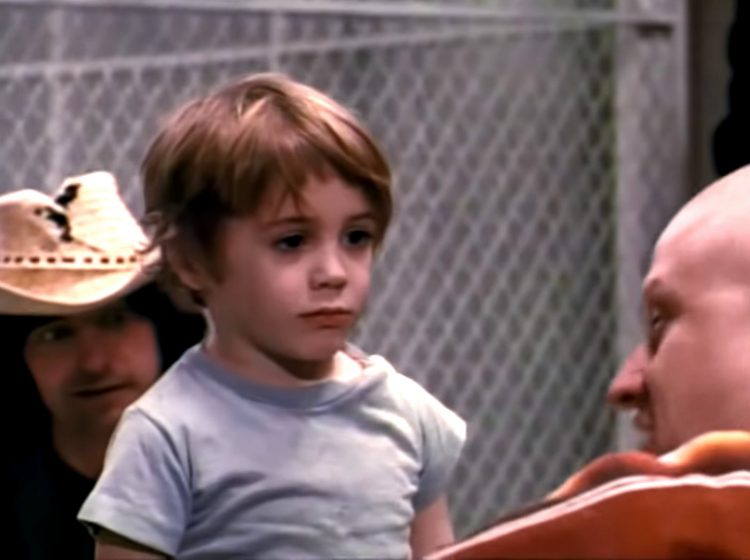 5-year-old Robert Downey, Jr in Pound (1970)