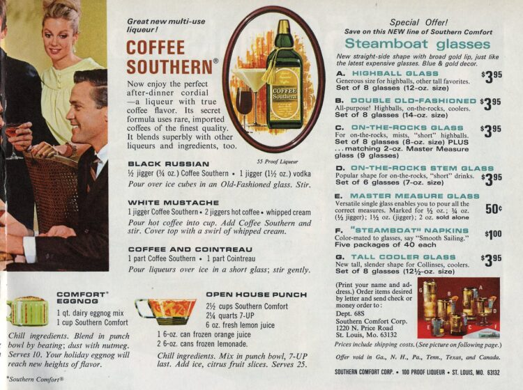 50 drinks and toasts from 1968 - Coffee drinks
