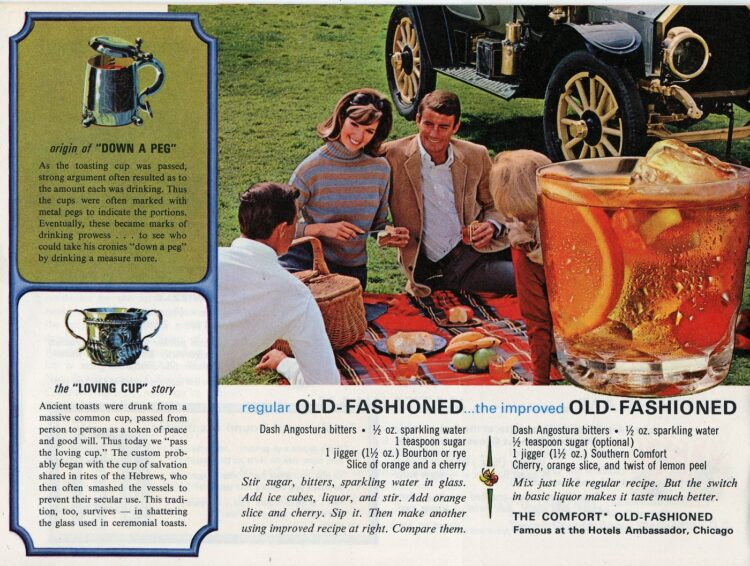 50 drinks and toasts from 1968 - Up a peg and the loving cup