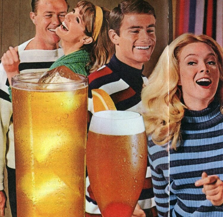 50 vintage drink recipes and toasts from the sixties