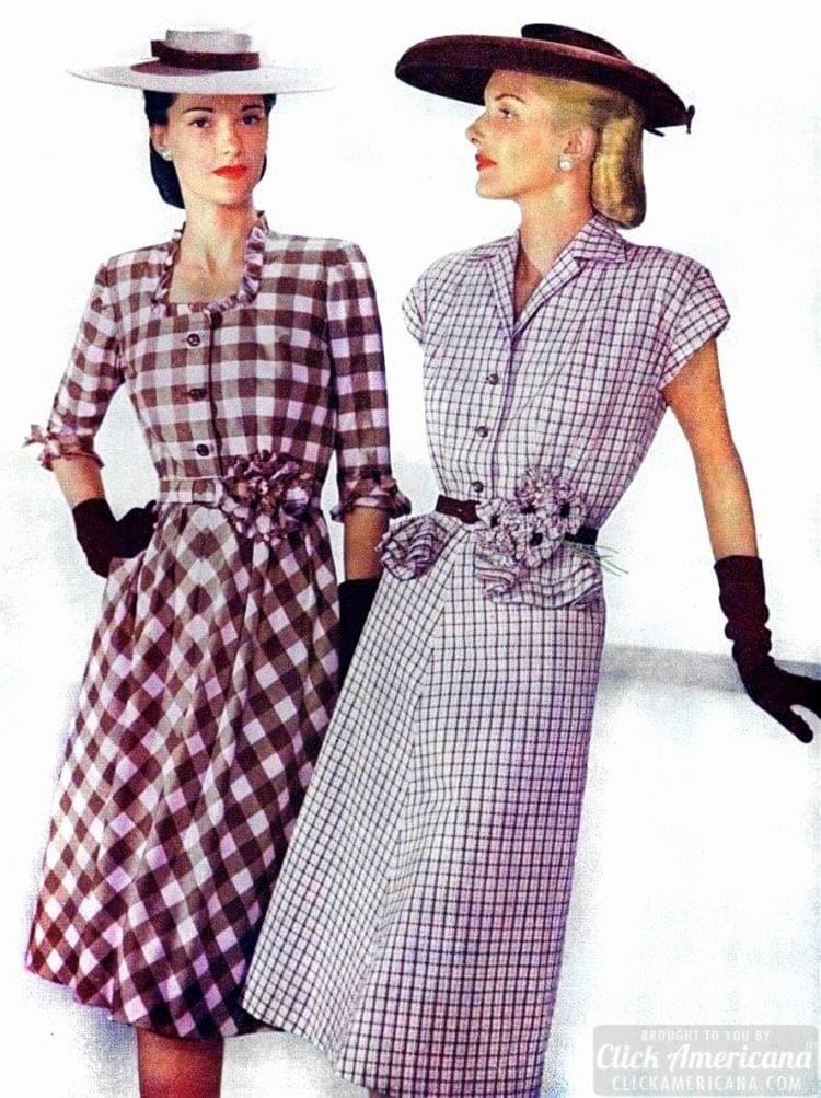 50s fashion - dresses