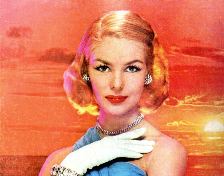 50s fashion - hairstyles - makeup