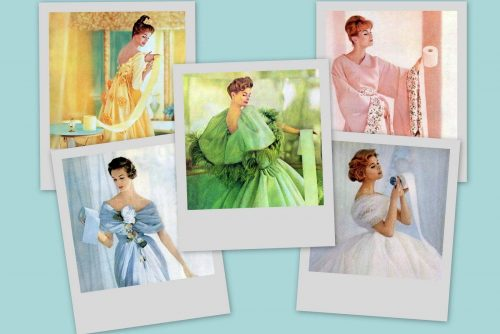 50s housewives who REALLY loved their toilet paper