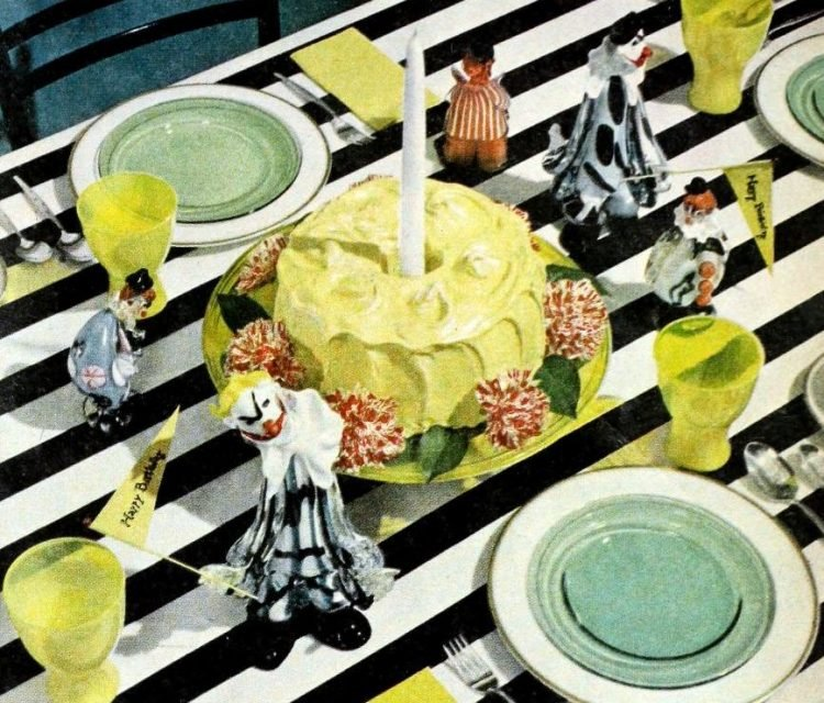50s party table decor from 1959 (5)