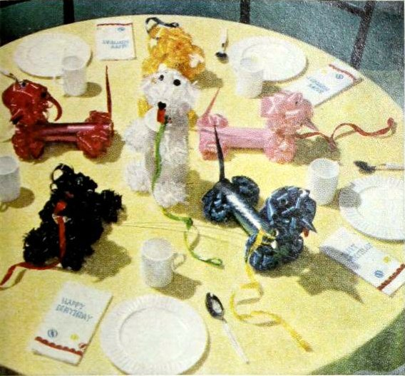 50s party table decor from 1959 (6)