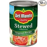 Del Monte Canned Stewed Original Recipe Tomatoes, 14.5-Ounce (Pack of 12)
