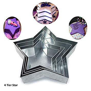 Star-shape baking pans