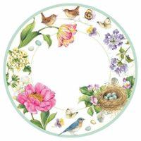 Paper Plates - Spring Sketchbook
