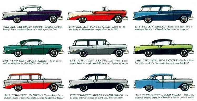 56 Chevys - Classic cars (2)