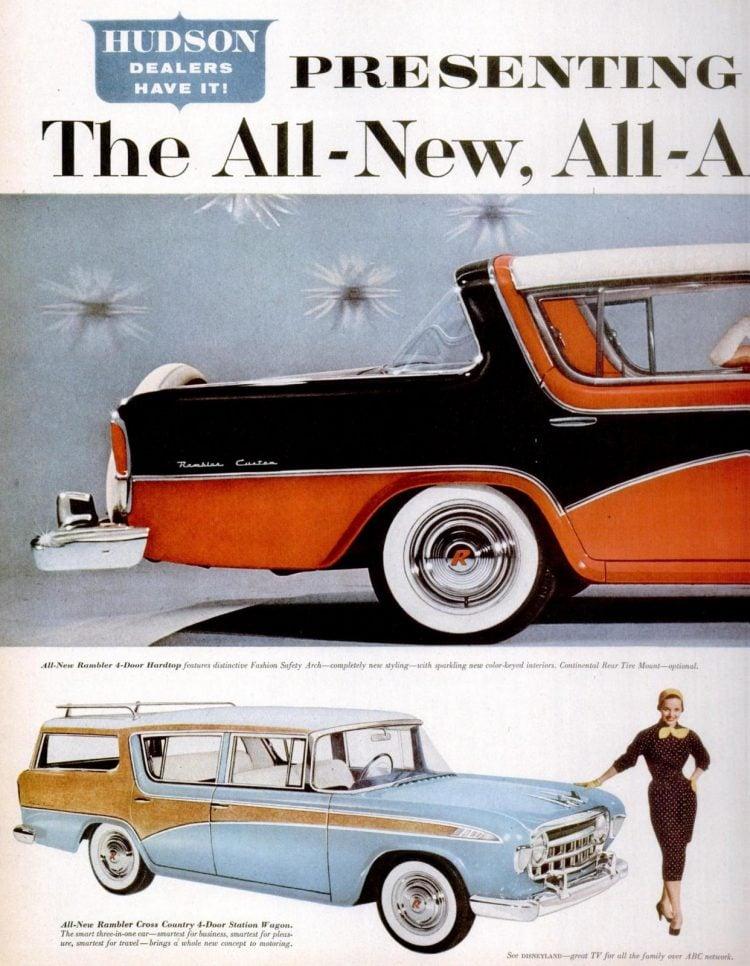 56 Rambler cars