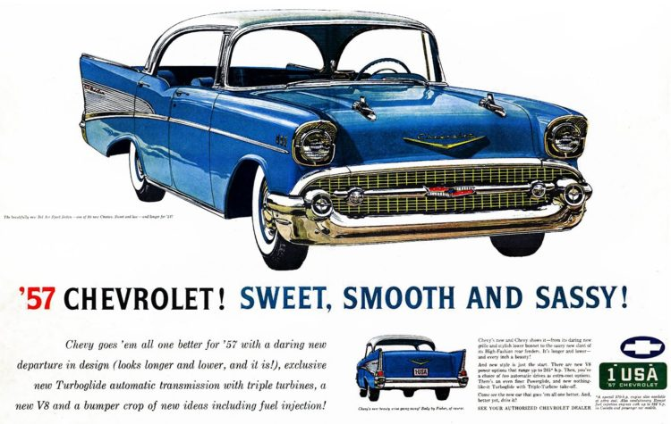 57 Chevrolet - Sweet, smooth and sassy