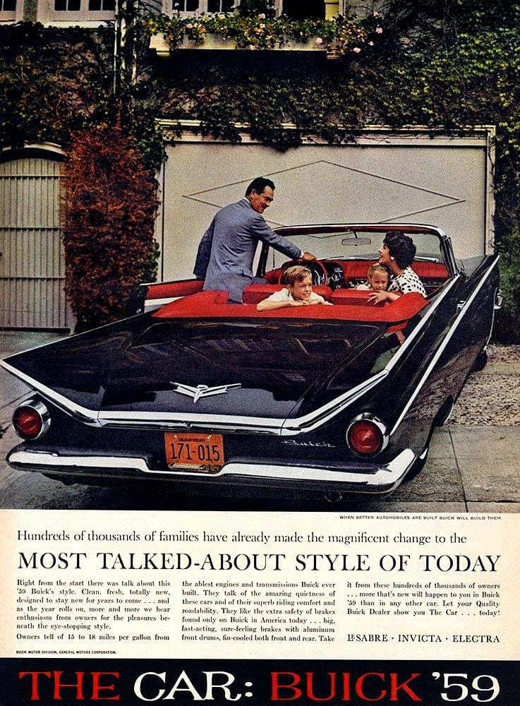 '59 Buick cars