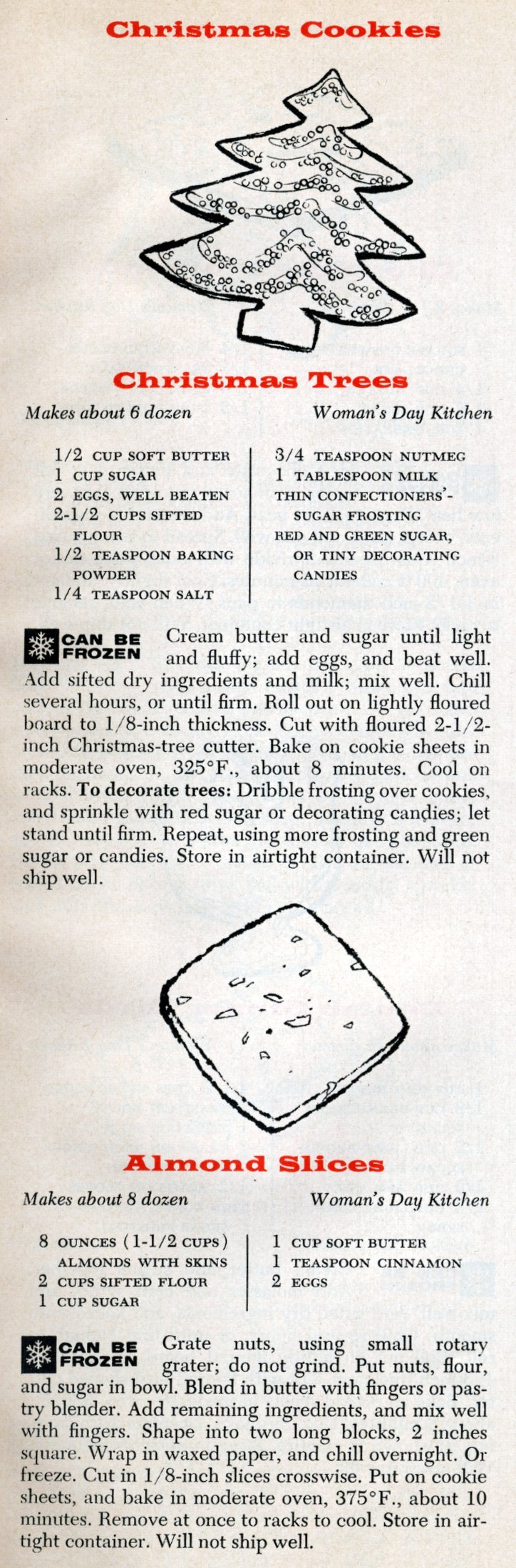 6 of the best classic Christmas cookies we know - from 1956 (3)
