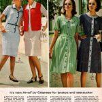 Jerseys and seersucker dresses - plus sleeveless jackets