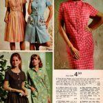 Front-zip dresses, stripey step-in dresses, flock-dotted dresses, blue seersucker culottes, flattering coat-style shift dresses