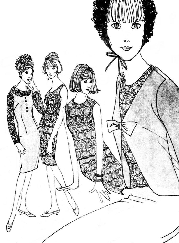 60s fashion retro - 1965