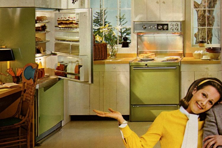 60s kitchen remodel with Frigidaire wife savers home appliances