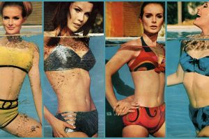60s swimsuits - fashion