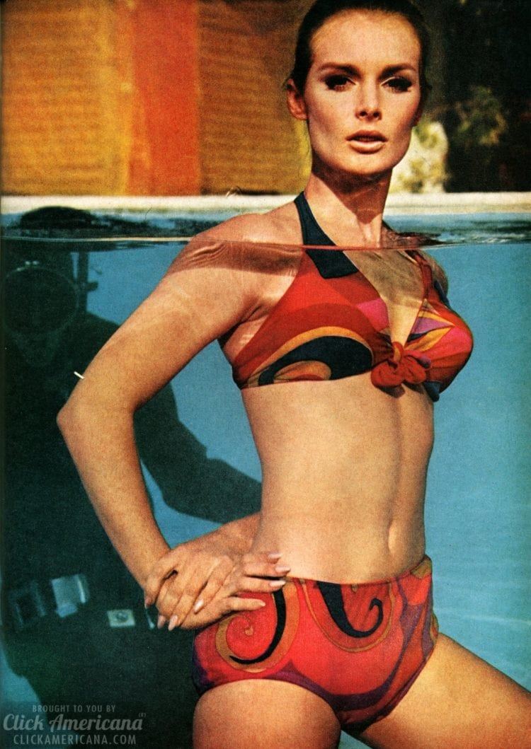 60s swimwear 8 snazzy swimsuits from 1967