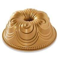 Nordic Ware 87477 Chiffon Bundt Pan One Size Gold