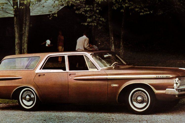 62 Plymouth Fury station wagon car