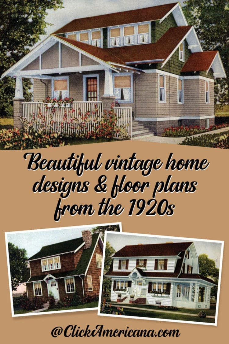 62 Beautiful Vintage Home Designs Floor Plans From The 1920s Click Americana