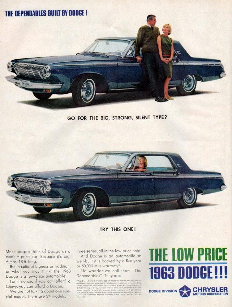 '63 Dodge cars