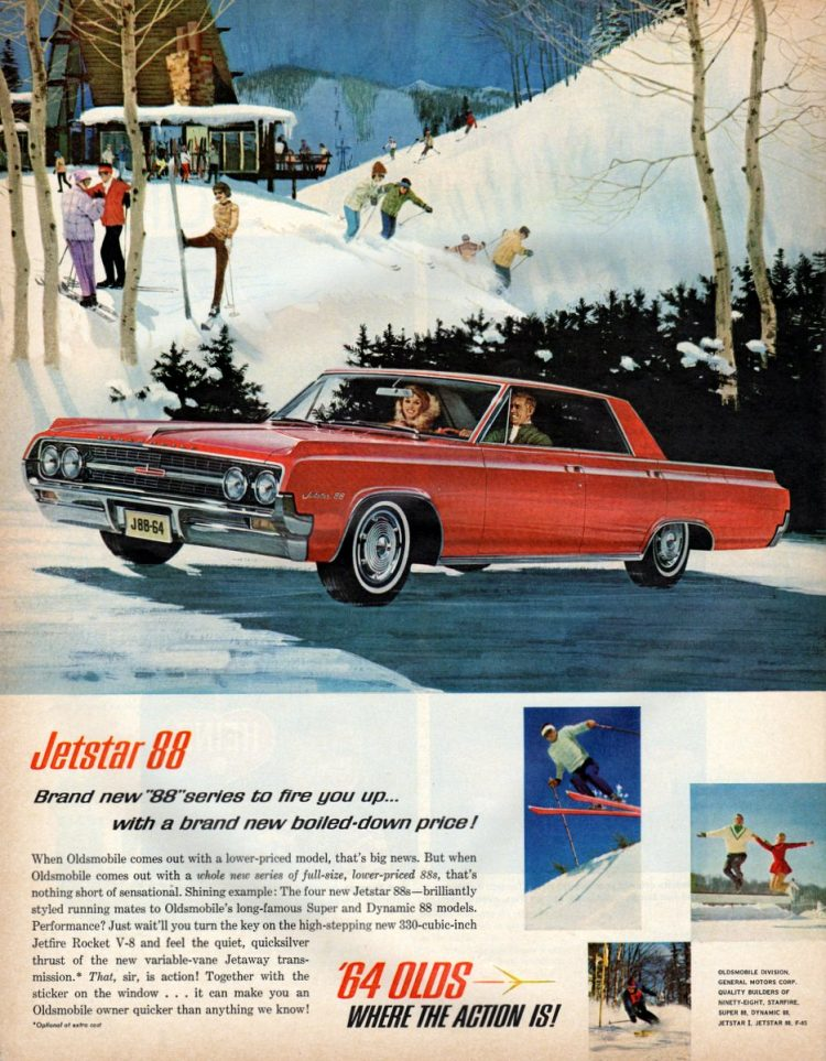 '64 Oldsmobile Jetstar 88-series to fire you up