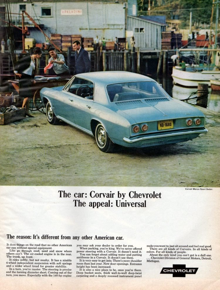 65 Chevrolet Corvair