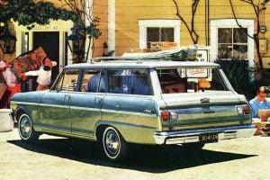 65 Chevrolet station wagons Impala, Chevy II Chevelle