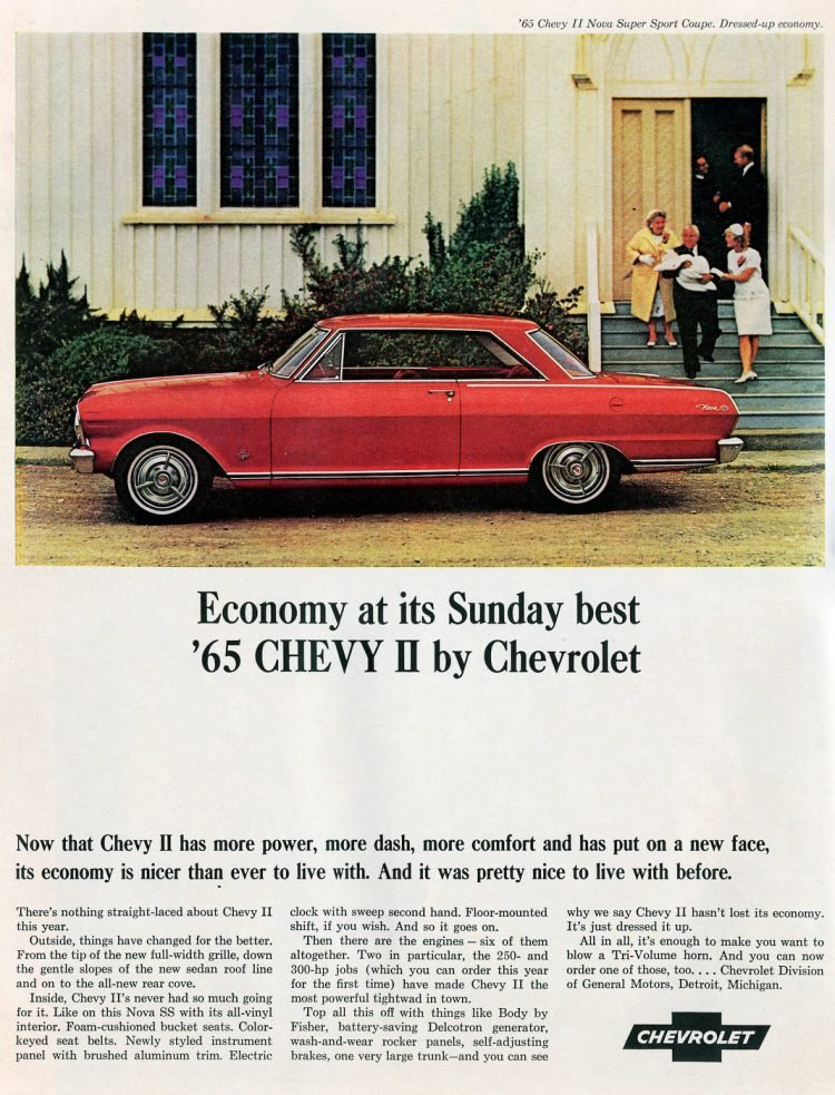 65 Chevy II classic cars