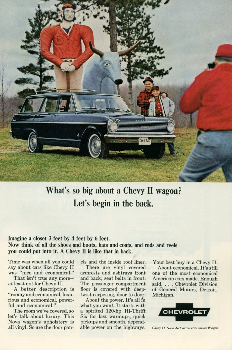 '65 Chevy II station wagon