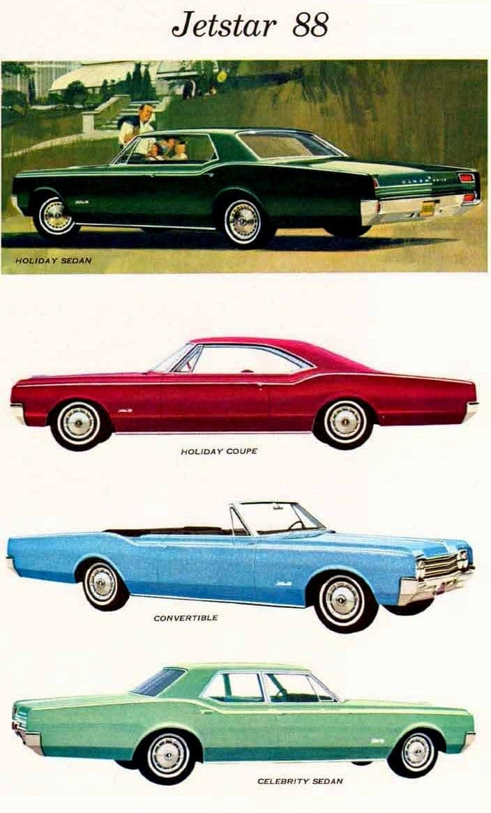 65 Oldsmobile cars - Jetfire