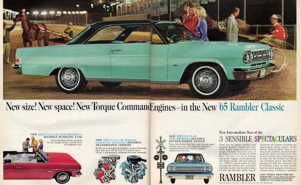65 Rambler classic car with torque command engines (1)