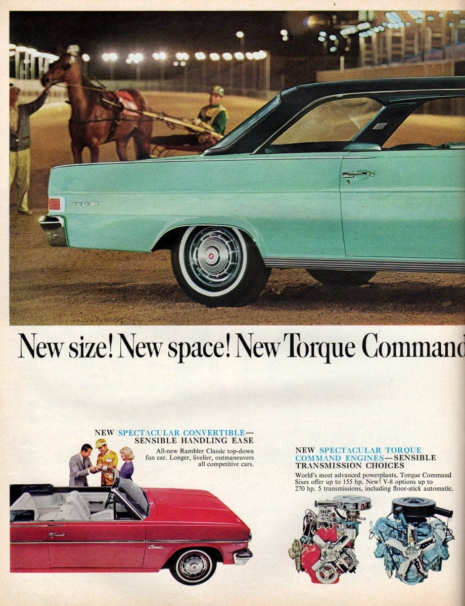 65 Rambler classic car with torque command engines (3)