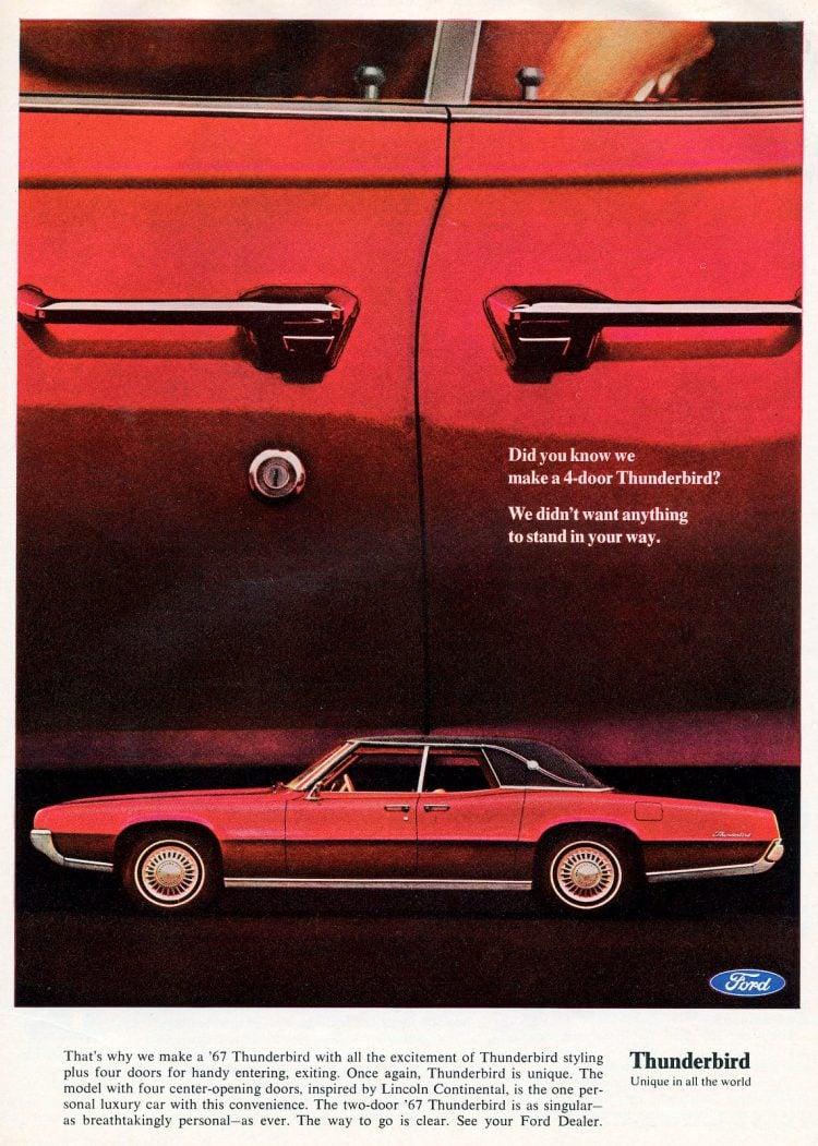 67 4-door Thunderbird