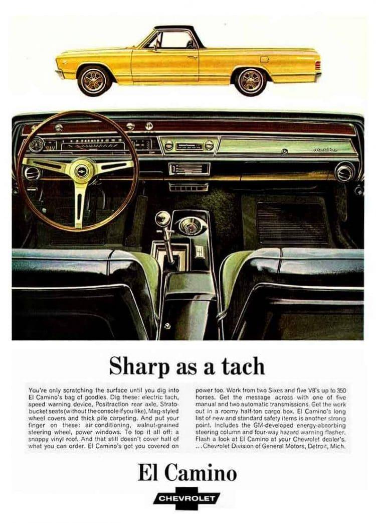 67 El Camino truck - Chevy