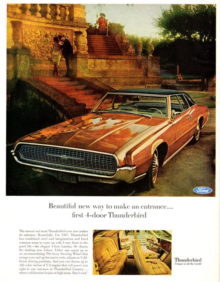 67 Ford Thunderbird cars (1)