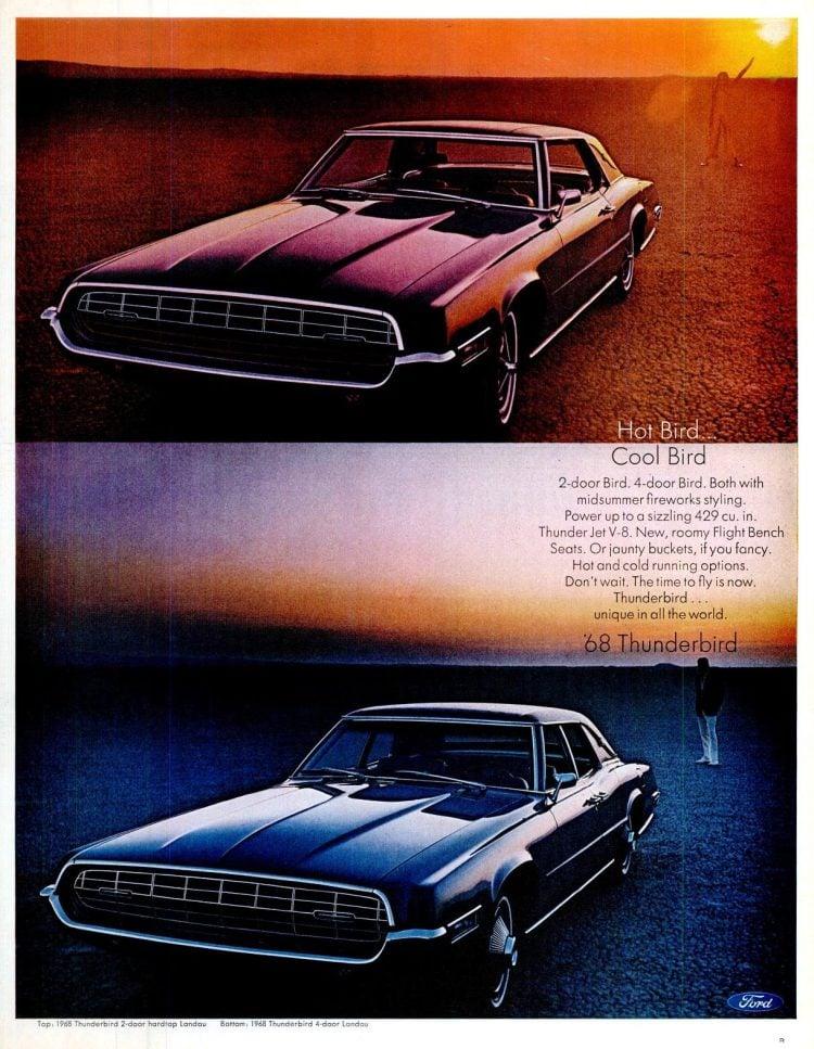 68 Ford Thunderbird cars (4)