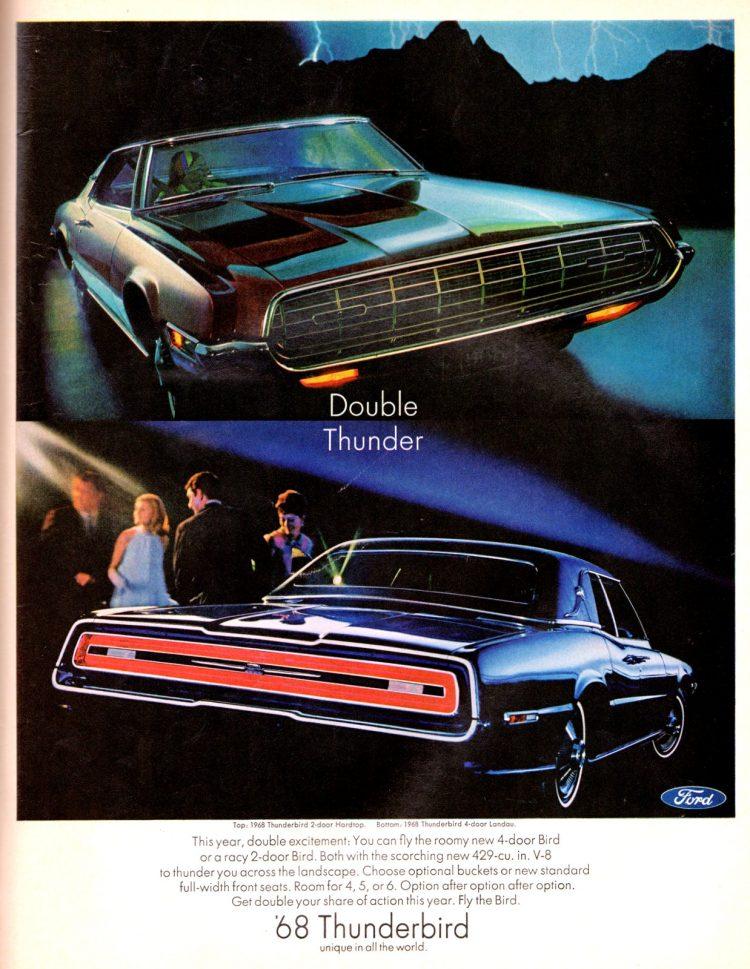 68 Ford Thunderbird cars (5)